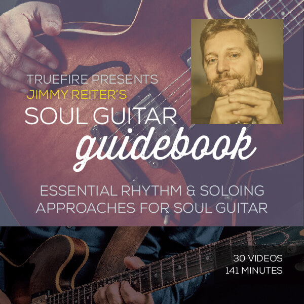 Jimmy Reiter - Soul Guitar Guidebook